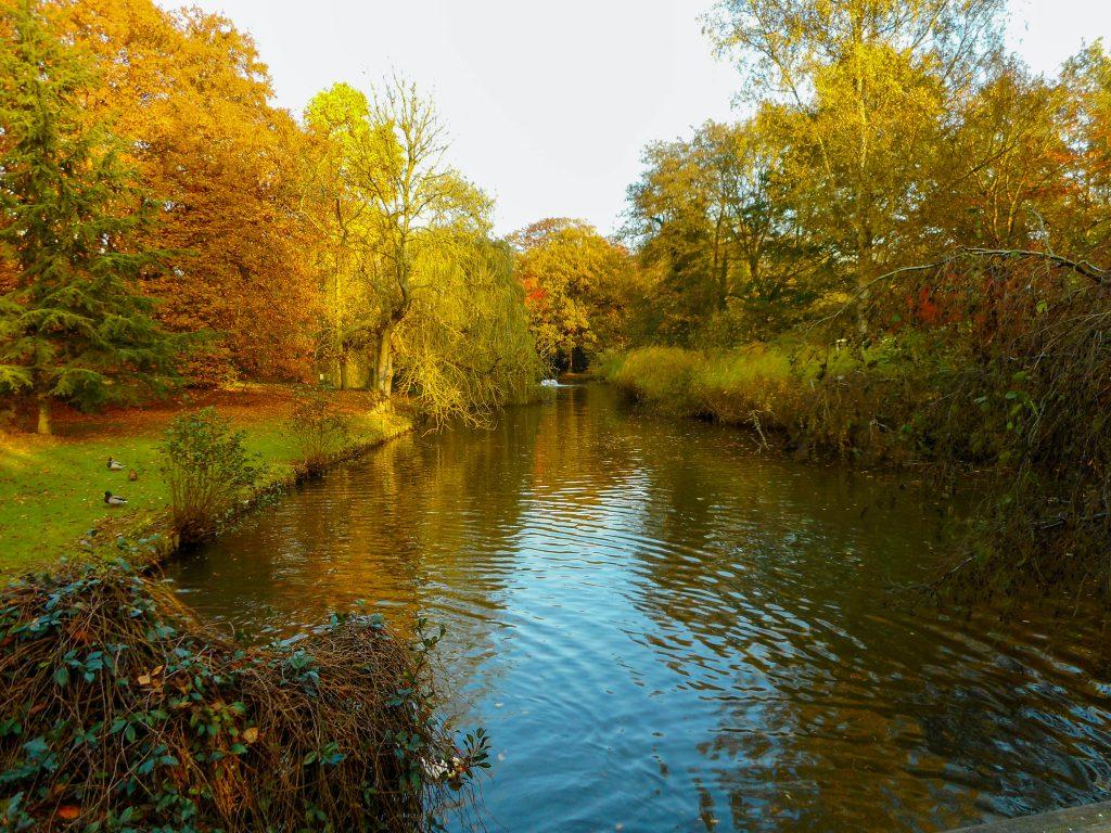 Puur genieten in het stadspark van Aalst.